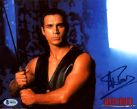 "Adrian Paul Signed ""Highlander"" 8x10 Photo (Beckett COA) at PristineAuction.com"