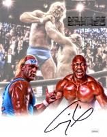 "Thomas ""Tiny"" Lister Jr. Signed WWE 8x10 Photo (JSA COA) at PristineAuction.com"