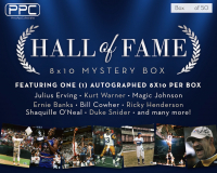 Press Pass Collectibles 2020 Multi-Sport Hall of Fame 8x10 Mystery Box – Series 1 (Limited to 50) at PristineAuction.com