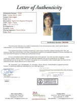 Mick Jagger Signed Magazine Page (JSA LOA) at PristineAuction.com