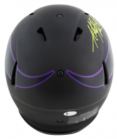 """Adrian Peterson Signed Vikings Full-Size Authentic On-Field Eclipse Alternate Speed Helmet Inscribed """"2012 NFL MVP"""" (Beckett COA) at PristineAuction.com"""