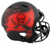 "Devin White Signed Buccaneers Full-Size Eclipse Alternate Speed Helmet Inscribed ""Fire The Cannons!"" (Beckett COA) at PristineAuction.com"