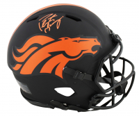 Peyton Manning Signed Broncos Full-Size Authentic On-Field Eclipse Alternate Speed Helmet (Fanatics Hologram) at PristineAuction.com