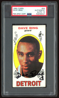 Dave Bing Signed 1969-70 Topps #55 RC (PSA Encapsulated) at PristineAuction.com