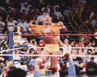 Hulk Hogan Signed 8x10 Photo (Schwartz Sports COA) at PristineAuction.com