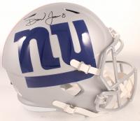 Daniel Jones Signed Giants Full-Size AMP Alternate Speed Helmet (JSA COA) at PristineAuction.com