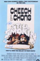 "Cheech Marin & Tommy Chong Signed ""Still Smokin"" 12x18 Movie Poster Print Inscribed ""19"" (Beckett COA) at PristineAuction.com"