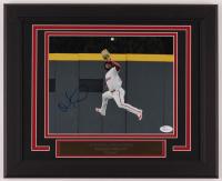 Odubel Herrera Signed Phillies 13x16 Custom Framed Photo Display (JSA COA) at PristineAuction.com