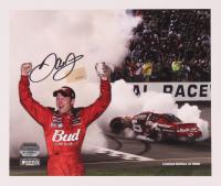 Dale Earnhardt Jr. Signed LE NASCAR 8x10 Photo (Mounted Memories Hologram & Earnhardt Jr. Hologram) at PristineAuction.com