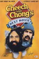 "Cheech Marin & Tommy Chong Signed ""Cheech & Chong's Next Movie"" 12x18 Photo Inscribed ""19"" (Beckett Hologram) at PristineAuction.com"
