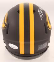 Davante Adams Signed Packers Eclipse Alternate Speed Mini Helmet (JSA COA) at PristineAuction.com