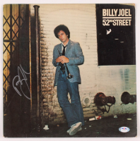 "Billy Joel Signed ""52nd Street"" Vinyl Album Cover (PSA Hologram) at PristineAuction.com"