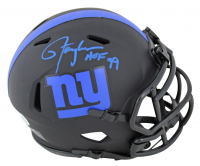 "Lawrence Taylor Signed Giants Eclipse Alternate Speed Mini Helmet Inscribed ""HOF 99"" (Beckett COA) at PristineAuction.com"