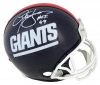 "Lawrence Taylor Signed Giants Full-Size Throwback Helmet Inscribed ""HOF 99"" (Beckett COA) at PristineAuction.com"
