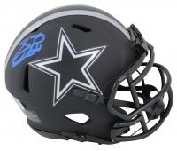 Emmitt Smith Signed Cowboys Eclipse Alternate Speed Mini Helmet (Beckett COA) at PristineAuction.com