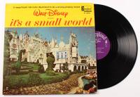 "1964 Disney Vintage ""It's a Small World"" Vinyl LP Record Album at PristineAuction.com"