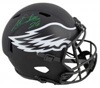 Miles Sanders Signed Eagles Full-Size Eagles Eclipse Alternate Speed Helmet (JSA COA) at PristineAuction.com
