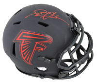Deion Sanders Signed Falcons Eclipse Alternate Speed Mini Helmet (Beckett COA) at PristineAuction.com