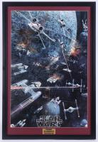 "1977 Original Promotional ""Star Wars: Episode IV -  A New Hope"" 24.5x36 Custom Framed Vintage Record LP Movie Poster Insert at PristineAuction.com"