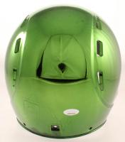 Davante Adams Signed Packers Full Size Chrome Helmet (JSA Hologram) at PristineAuction.com
