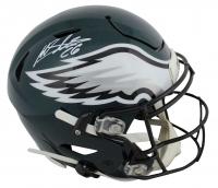 Miles Sanders Signed Eagles Full-Size Authentic On-Field Speedflex Helmet (JSA COA) at PristineAuction.com