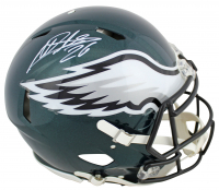 Miles Sanders Signed Eagles Full-Size Authentic On-Field Speed Helmet (JSA COA) at PristineAuction.com