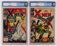 Lot of (2) CGC Graded Marvel Comic Books with 1967 X-Men Issue #29 (CGC VG+ 4.5) & 1967 X-Men Issue #31 (CGC VF- 7.5) at PristineAuction.com