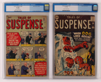 Lot of (2) CGC Graded Marvel Comic Books with 1962 Tales of Suspense Issue #27 (CGC 1.8) & 1962 Tales of Suspense Issue #34 (CGC 2.5) at PristineAuction.com