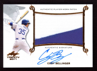 Cody Bellinger 2017 Leaf Trinity Patch Autographs #PACB1 at PristineAuction.com