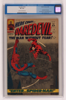 "1966 ""Daredevil"" Issue #16 Marvel Comic Book (CGC 4) at PristineAuction.com"
