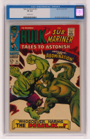 "1967 ""Tales to Astonish: Sub-Mariner and The Incredible Hulk"" Issue #91 Marvel Comic Book (CGC 8) at PristineAuction.com"