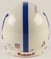 Johnny Unitas Signed Colts Full-Size Authentic On-Field Helmet (PSA Hologram) at PristineAuction.com