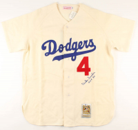 "Duke Snider Signed Dodgers Jersey Inscribed ""HOF 80"" (Beckett COA) at PristineAuction.com"