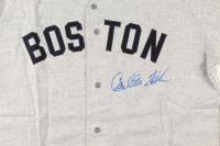 Carlton Fisk Signed Red Sox Jersey (PSA Hologram) at PristineAuction.com
