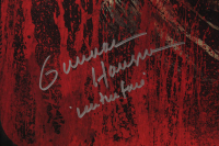 """Gunnar Hansen Signed LE """"The Texas Chainsaw Massacre"""" 18x24 Poster Inscribed """"Leatherface"""" (Beckett COA) at PristineAuction.com"""