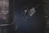 Luc Robitaille Signed Stanley Cup 22.5x34 Poster (JSA COA) at PristineAuction.com