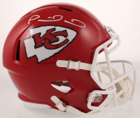 Patrick Mahomes Signed Chiefs Full-Size Speed Helmet (JSA COA) at PristineAuction.com