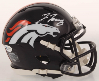 Jerry Jeudy Signed Broncos Mini Helmet (Beckett COA) at PristineAuction.com