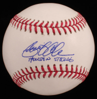 """Gerrit Cole Signed OML Baseball Inscribed """"Houston Strong"""" (PSA COA) at PristineAuction.com"""