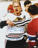 "Bobby Hull Signed Blackhawks 11x14 Photo Inscribed ""HOF 1983"" (Schwartz Hologram) at PristineAuction.com"
