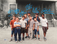 """""""The Sandlot"""" 11x14 Photo Cast-Signed by (6) with Tom Guiry, Marty York, Shane Obedzinski, Victor DiMattia, Chauncey Leopard & Brandon Adams with Multiple Character Inscriptions (Beckett COA) at PristineAuction.com"""
