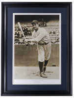 """Historical Photo Archive - Lou Gehrig """"First Day On The Job"""" Limited Edition 17x23 Custom Framed Fine Art Giclee on Paper # 18 / 375 (PA LOA) at PristineAuction.com"""