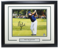 Phil Mickelson Signed 16x20 Custom Framed Photo (Beckett COA) at PristineAuction.com