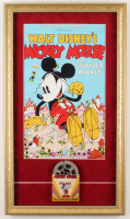 "Walt Disney's ""Mickey Mouse"" 14x24 Custom Framed 1950s Film Reel Display at PristineAuction.com"