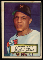 Willie Mays 1952 Topps #261 at PristineAuction.com
