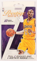 2015-16 Prestige NBA Card Box with (10) Trading Cards at PristineAuction.com