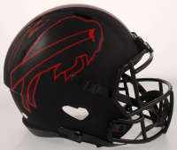 Josh Allen Signed Bills Full-Size Eclipse Alternate Speed Helmet (Beckett COA) at PristineAuction.com