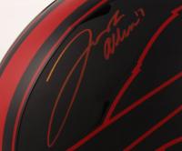 Josh Allen Signed Bills Full-Size Eclipse Alternate Speed Helmet (Beckett COA) at PristineAuction.com