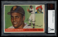 Roberto Clemente 1955 Topps #164 RC (BVG 8) at PristineAuction.com