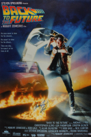 "Christopher Lloyd Signed ""Back to the Future"" 29x40 Movie Poster (Beckett Hologram) at PristineAuction.com"
